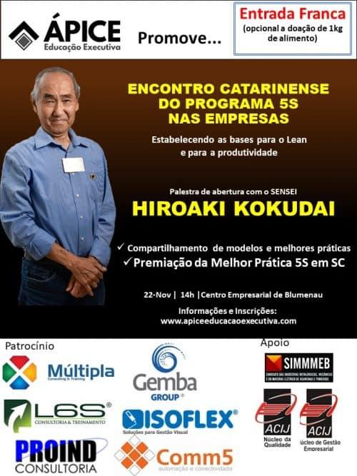 Encontro Catarinense do Programa 5S nas Empresas patrocinado pela Comm5 Tecnologia.